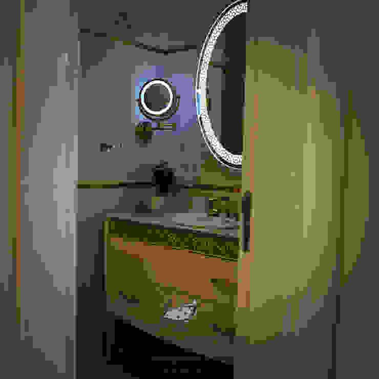 NAZARİ FAMİLY HOUSE/İSTANBUL/TURKEY Modern Banyo Gizem Kesten Architecture / Mimarlik Modern