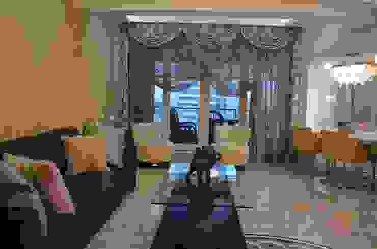 NAZARİ FAMİLY HOUSE/İSTANBUL/TURKEY Modern Oturma Odası Gizem Kesten Architecture / Mimarlik Modern