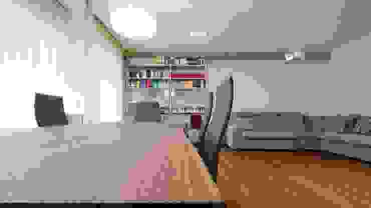 Appartamento alla Caffarella – Roma Sala da pranzo moderna di Archifacturing Moderno