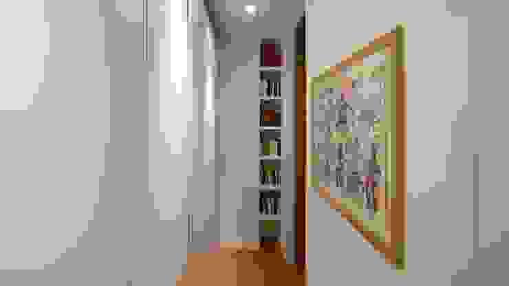 Pasillos, vestíbulos y escaleras de estilo moderno de Archifacturing Moderno