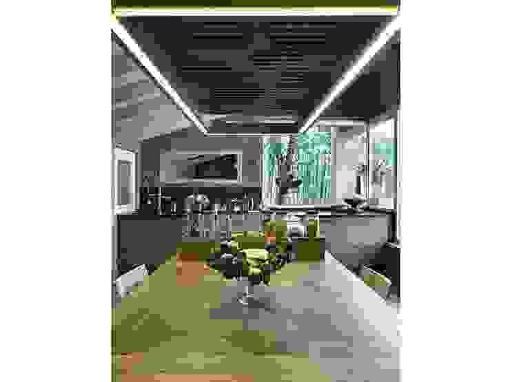 Maison bamboo Cucina eclettica di Studio Maggiore Architettura Eclettico