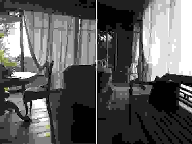 Maison bamboo Pareti & Pavimenti eclettiche di Studio Maggiore Architettura Eclettico