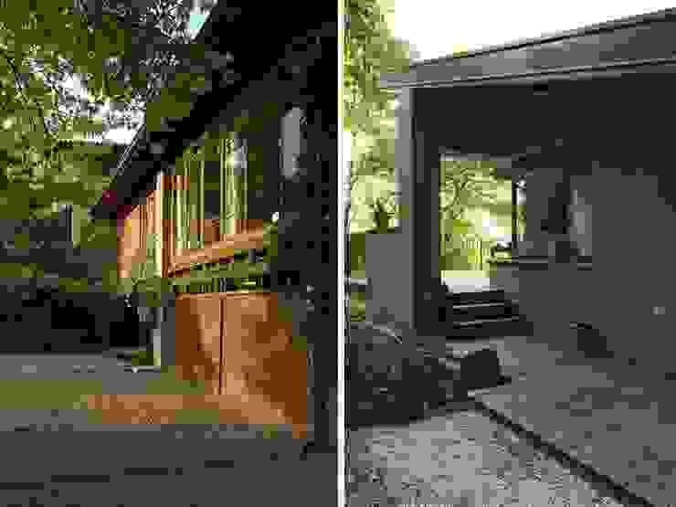 Maison bamboo Case eclettiche di Studio Maggiore Architettura Eclettico