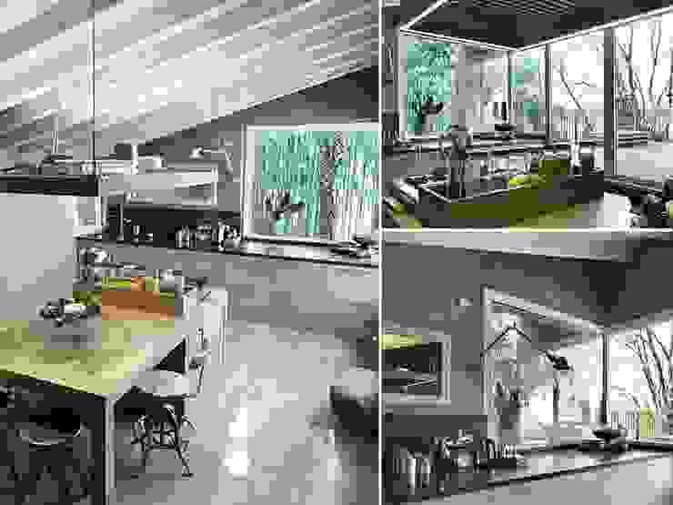 Maison bamboo Cucina moderna di Studio Maggiore Architettura Moderno