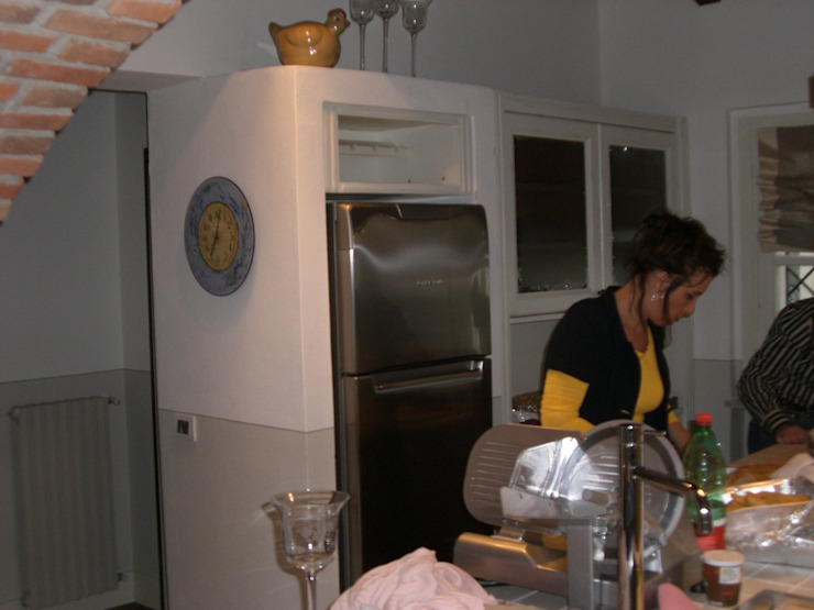 la cucina Cucina in stile mediterraneo di STUDIO DI ARCHITETTURA CLEMENTI Mediterraneo