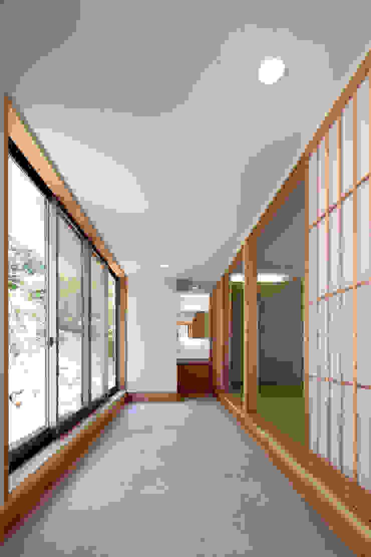 m annex 和風の 玄関&廊下&階段 の 長谷雄聖建築設計事務所 和風