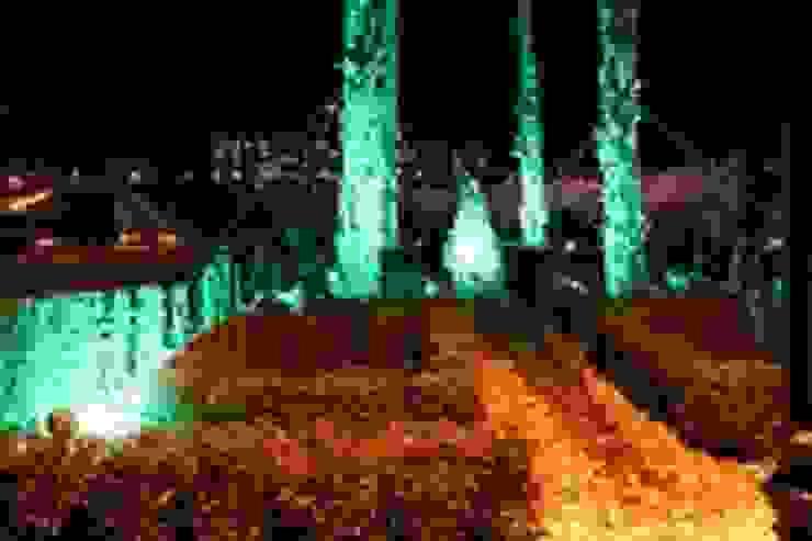 HAYDAR ALİYEV PARKI Akdeniz Balkon, Veranda & Teras BAYTAŞ LIGHTING PROJECT CONTRACT MANUFACTURING INDUSTRY LTD. INC.CO. Akdeniz