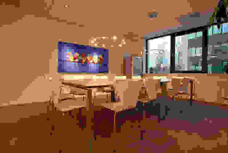 koffietafel Moderne kantoorgebouwen van Lightarc lichtarchitektuur Modern