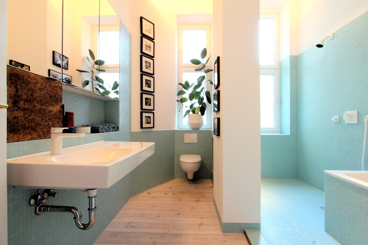 Modern Bathroom by WAF Architekten Modern