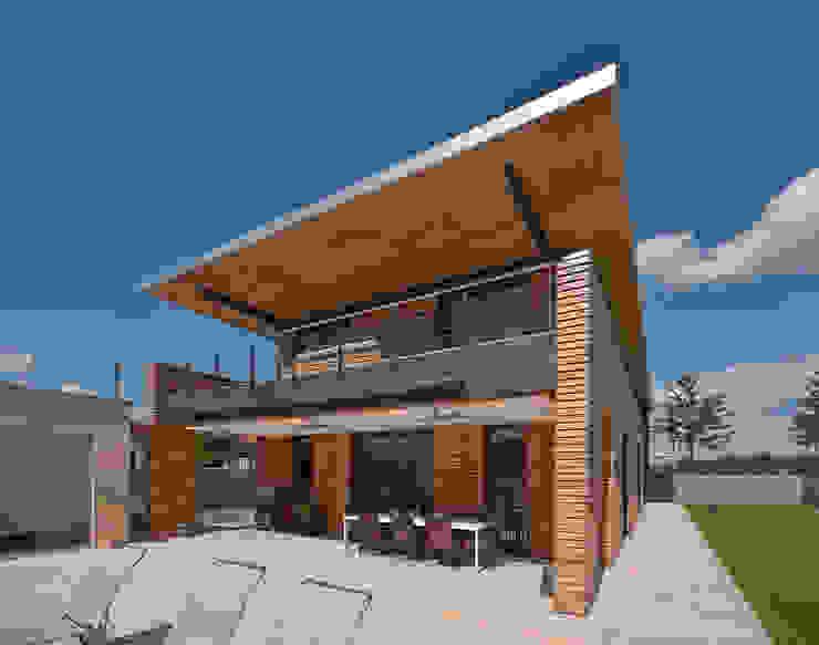 Privathaus Schutterwald Moderner Garten von Grossmann Architekten Modern
