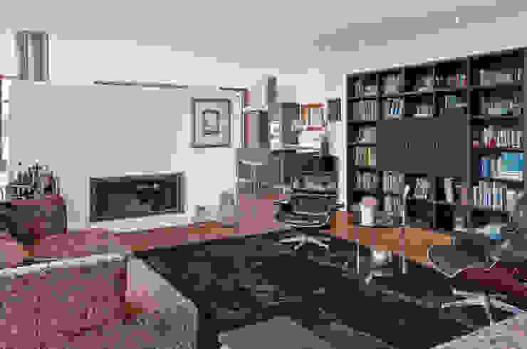 Privathaus Schutterwald Moderne Wohnzimmer von Grossmann Architekten Modern