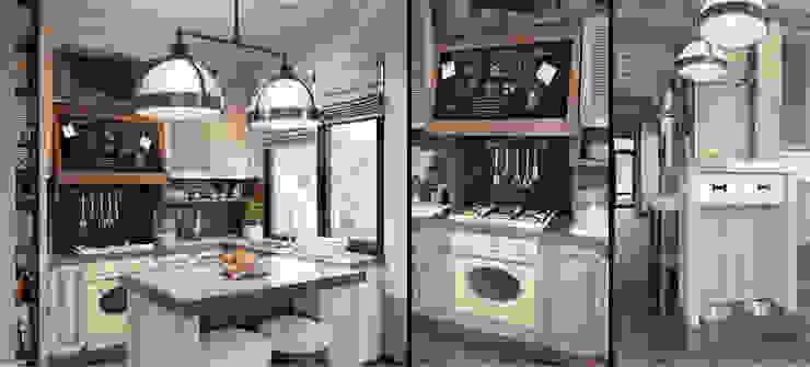 M-project Cucina in stile rustico