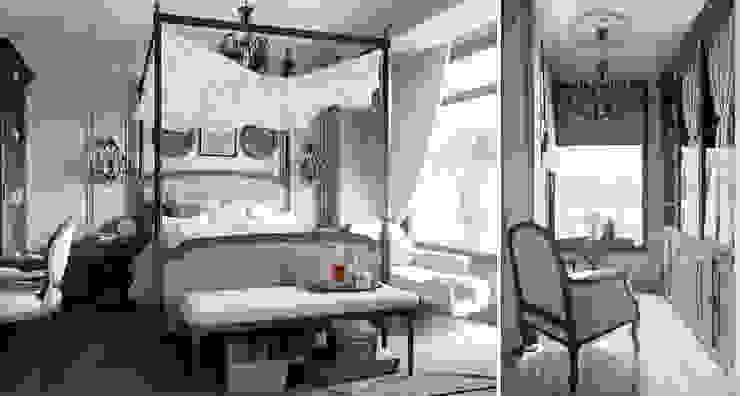 Проект в стиле RH Спальня в рустикальном стиле от M-project Рустикальный