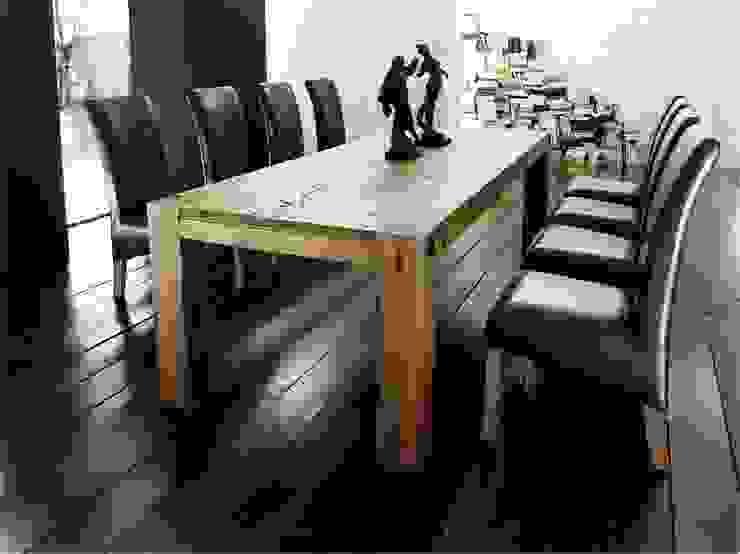 Stół dębowy BELFAST Klasyczna jadalnia od mebel4u Klasyczny