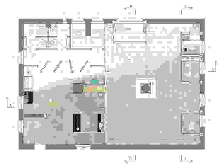 Sensorium – przestrzeń relaksu dedykowana zmysłom od BEZ CUKRU studio projektowe Minimalistyczny
