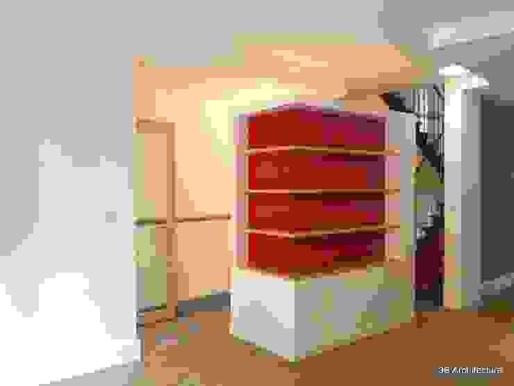 Volume multi usages Salon moderne par 3B Architecture Moderne