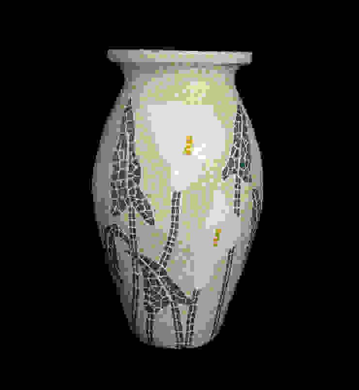 Vasos, bowls e cachepôs por Mosaico Lúbia Lópes Clássico