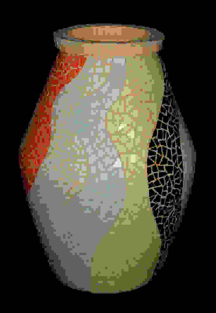 Vasos, bowls e cachepôs por Mosaico Lúbia Lópes Moderno