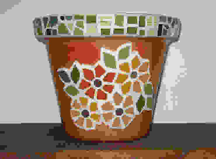 Vasos, bowls e cachepôs por Mosaico Lúbia Lópes Campestre