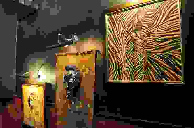 Проект интерьера ресторана <q>Сахара</q> от Antica Style Колониальный