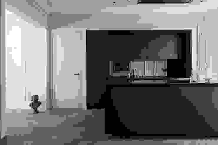 Paris 75006 Cuisine minimaliste par César Pupat Architecture intérieure Minimaliste