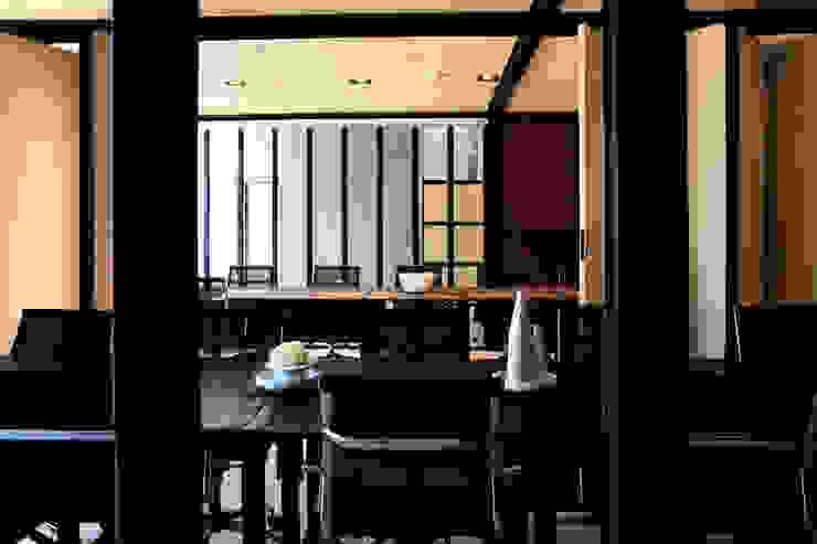Interior Pabellón de juntas de Studio Marco Villa Mateos Moderno