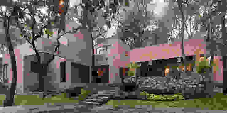 Moderne Häuser von MO+G Taller de Arquitectura Modern