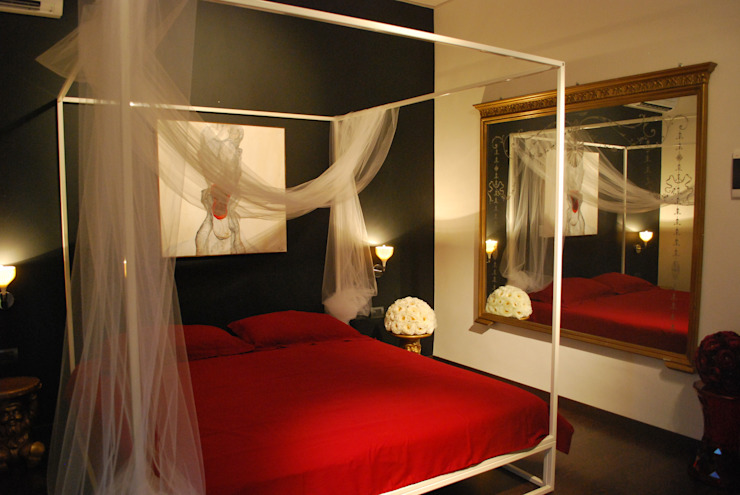 Modern Yatak Odası Rizzotti Design Modern