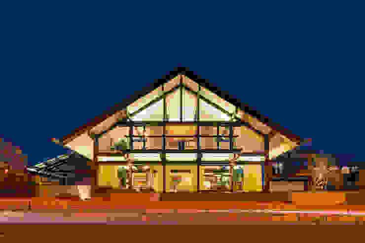 Casas modernas de HUF HAUS GmbH u. Co. KG Moderno