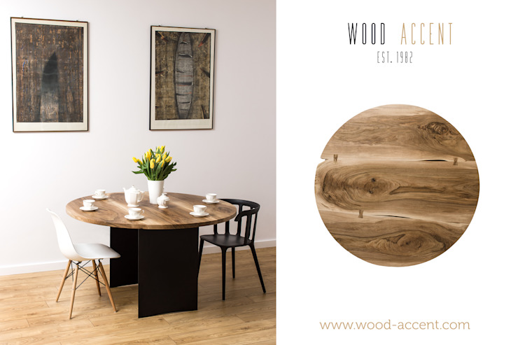 Dining room by WOOD ACCENT, Scandinavian