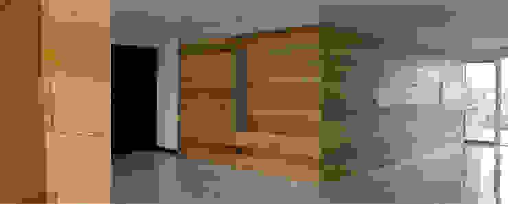 Apartamento 1B Cima Real Cocinas modernas de LEAP Laboratorio en Arquitectura Progresiva Moderno