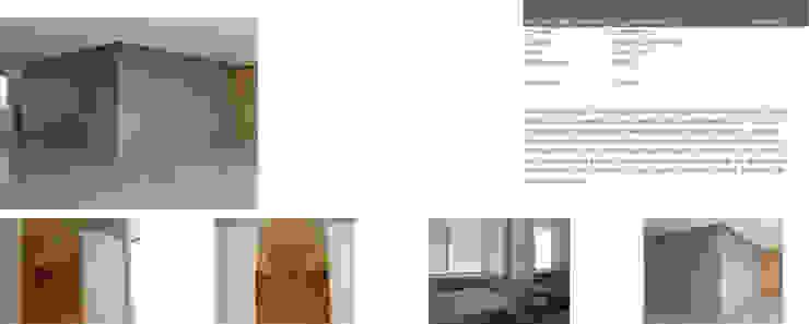 Apartamento 2A Cima Real Dormitorios modernos de LEAP Laboratorio en Arquitectura Progresiva Moderno
