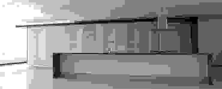 Apartamento 8F Cima Real Cocinas modernas de LEAP Laboratorio en Arquitectura Progresiva Moderno