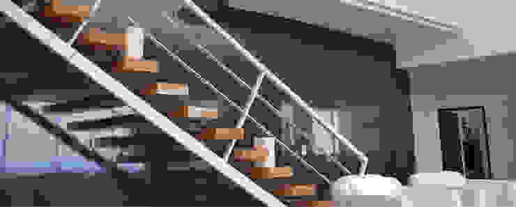 Penthouse B Cima Real Salones modernos de LEAP Laboratorio en Arquitectura Progresiva Moderno