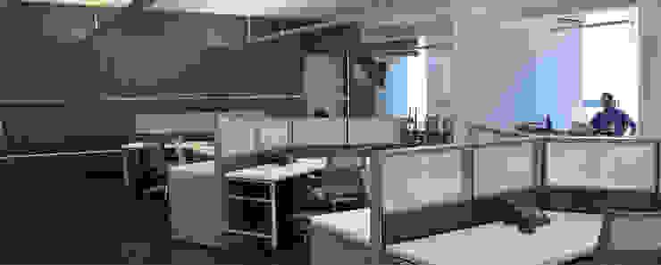 Oficinas Insight de LEAP Laboratorio en Arquitectura Progresiva Moderno
