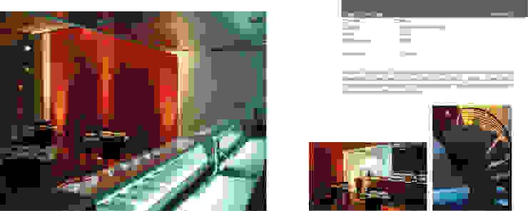 Sushi Bar Sake Gastronomía de estilo moderno de LEAP Laboratorio en Arquitectura Progresiva Moderno