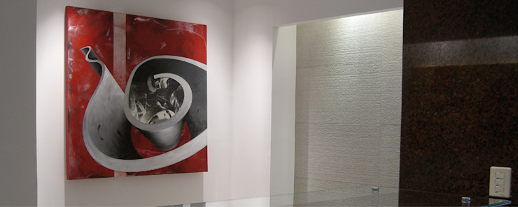 Consultorio médico Clínicas y consultorios médicos de estilo moderno de LEAP Laboratorio en Arquitectura Progresiva Moderno