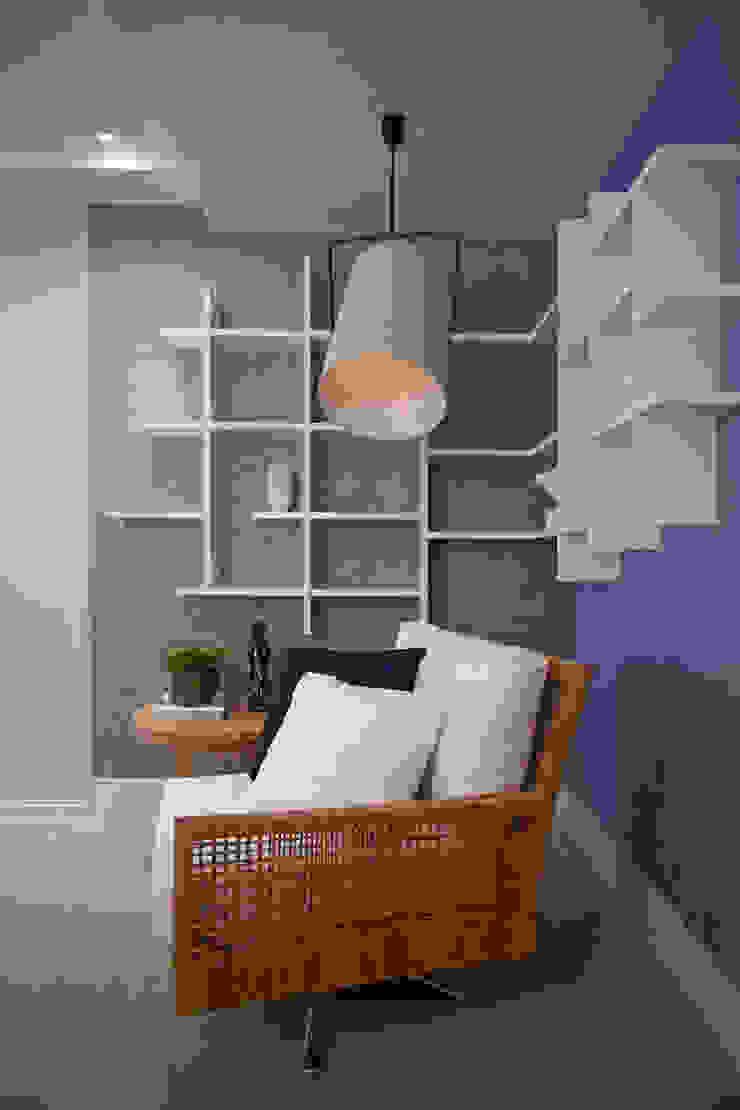 Project Salas de estar modernas por Cristina Grossi Arquitetura Moderno