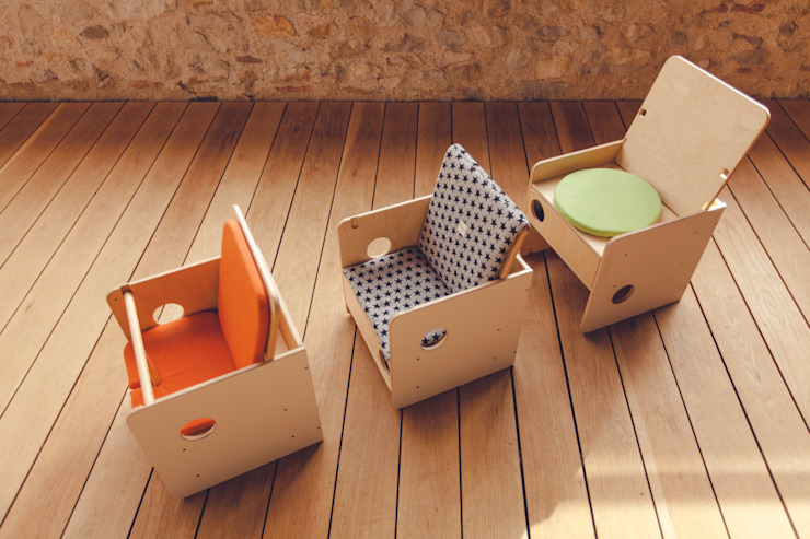 SILLA BEBÉ OSIT nuun kids design Habitaciones infantilesEscritorios y sillas