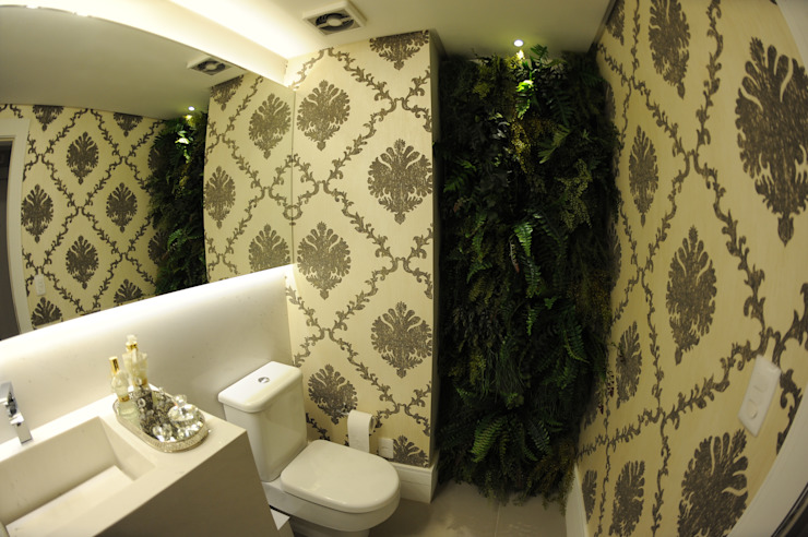 コロニアルスタイルの お風呂・バスルーム の Bruna Zappelini Arquitetura コロニアル