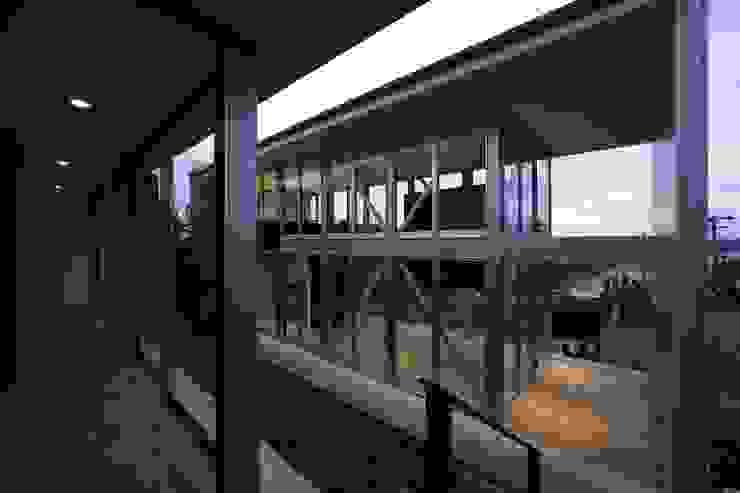 archi-scape モダンな庭 の 岡村泰之建築設計事務所 モダン