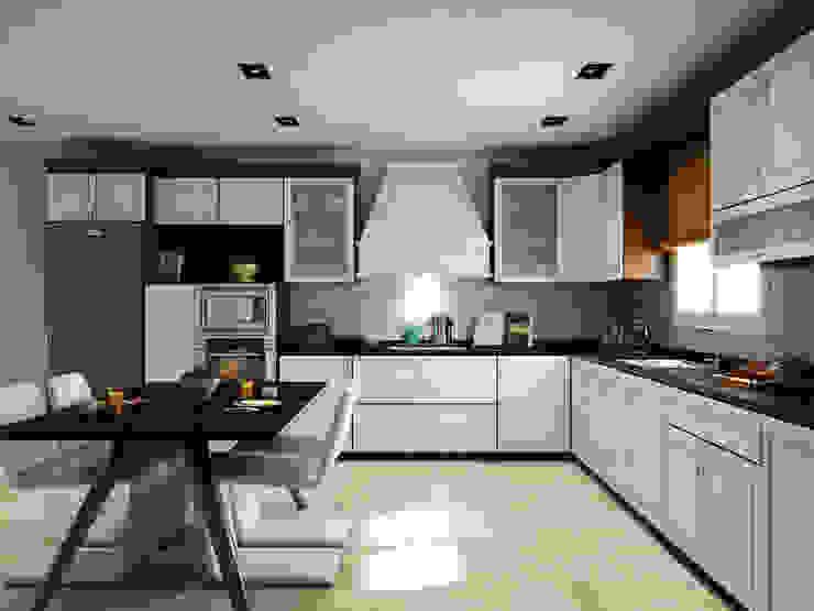 homify Modern Kitchen