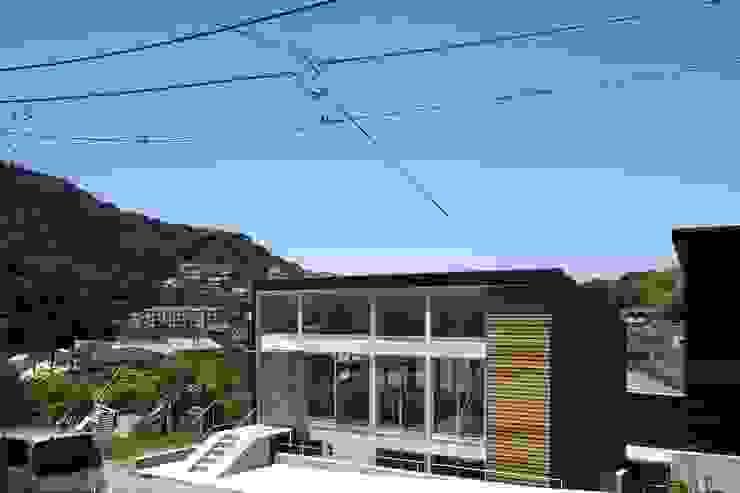 light-scape モダンな 家 の 岡村泰之建築設計事務所 モダン