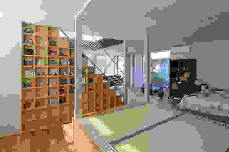 light-scape モダンスタイルの寝室 の 岡村泰之建築設計事務所 モダン
