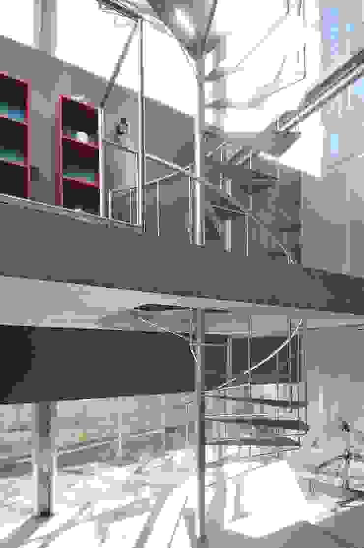 light-phase モダンスタイルの 玄関&廊下&階段 の 岡村泰之建築設計事務所 モダン
