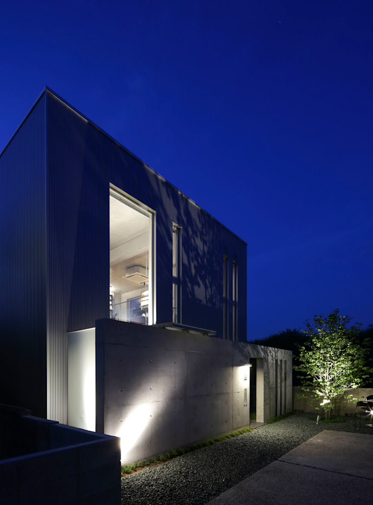 box house モダンな 家 の 髙岡建築研究室 モダン