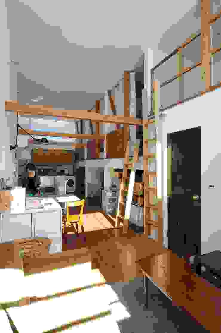 good-shelf モダンデザインの ダイニング の 岡村泰之建築設計事務所 モダン