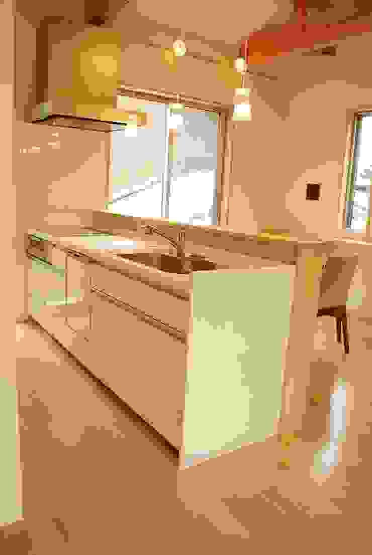 西川真悟建築設計 Modern kitchen