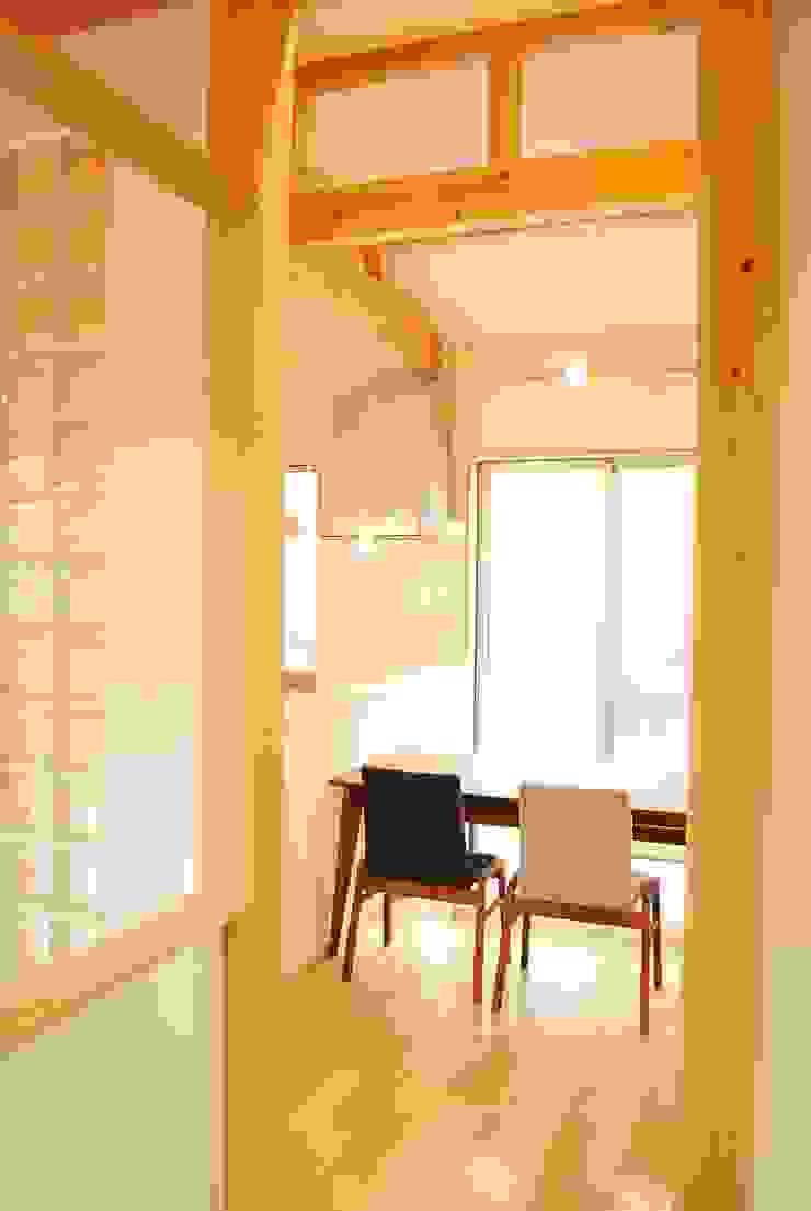 長等の家 モダンデザインの ダイニング の 西川真悟建築設計 モダン