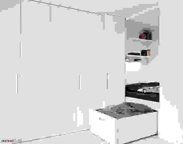 Minimalist bedroom by nomad studio Minimalist